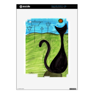 A Cat's View Skin For iPad 2