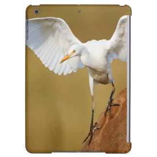 A Cattle Egret (Bubulcus Ibis) Descends iPad Air Covers
