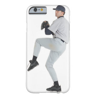 a caucasian man wearing a white baseball uniform barely there iPhone 6 case