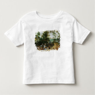 A Cavalry Column Ambushed on a Woodland path Toddler T-shirt