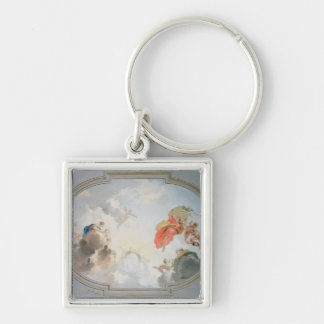 A Ceiling Design depicting the Apotheosis of Keychain