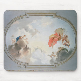 A Ceiling Design depicting the Apotheosis of Mouse Pad