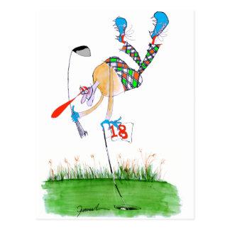 a celebration - golf, tony fernandes postcard