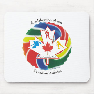 A Celebration of our Canadian Athletes Mouse Pad