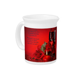 A Celebration of the Heart Drink Pitcher