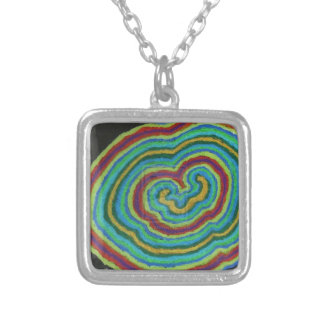 A Cell? Square Pendant Necklace