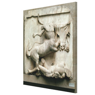 A Centaur triumphing over a Lapith Canvas Print