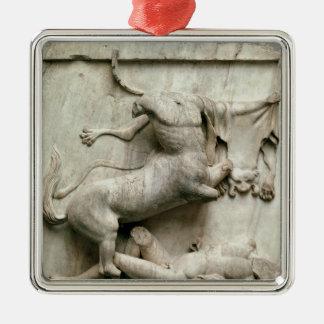 A Centaur triumphing over a Lapith Metal Ornament