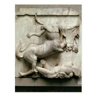 A Centaur triumphing over a Lapith Postcard