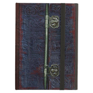 A Centuries Old Worn Leather And Brass Book Cover iPad Air Covers
