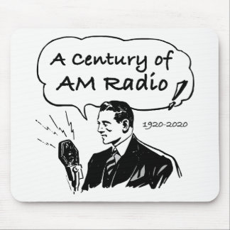 A Century of AM Radio Mouse Pad
