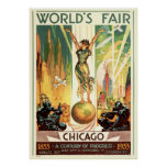 A Century of Progress - 1933 Chicago World's Fair Poster