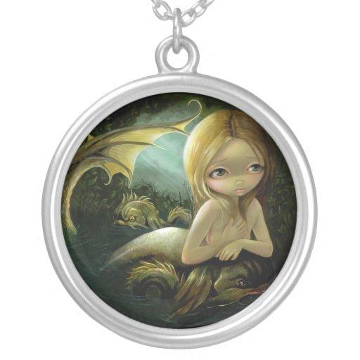 A Certain Slant of Light NECKLACE mermaid fantasy