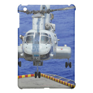 A CH-46E Sea Knight helicopter iPad Mini Covers