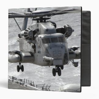 A CH-53E Super Stallion helicopter Vinyl Binder