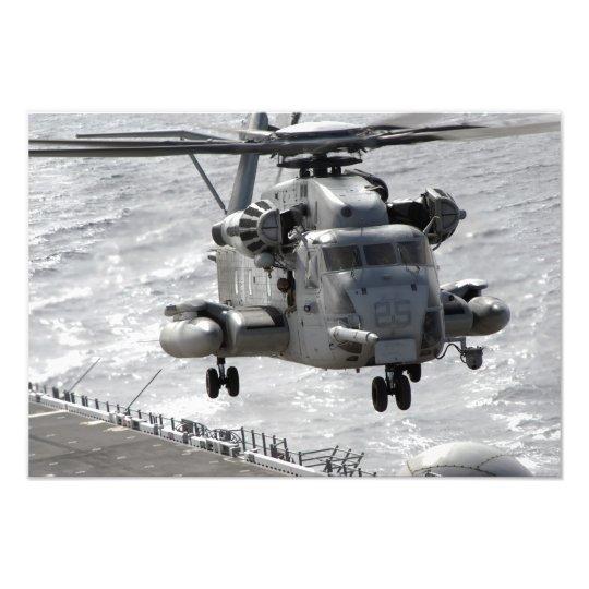 A CH-53E Super Stallion helicopter Photo Print
