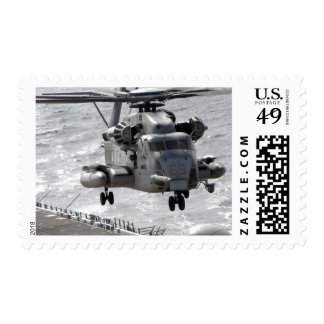 A CH-53E Super Stallion helicopter Postage Stamp