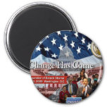 A Change Has Come - The 2009 Obama Inaugural Refrigerator Magnet