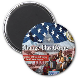 A Change Has Come - The 2009 Obama Inaugural Magnet