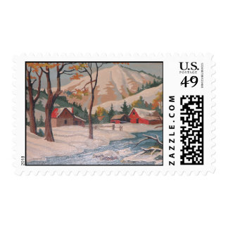 A Change of Season Postage Stamps