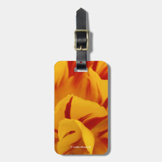 A Chaos of Red and Yellow: Triandrus Daffodils Luggage Tag