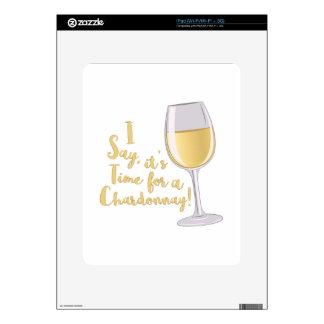 A Chardonnay Skin For iPad