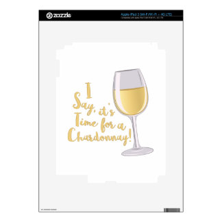 A Chardonnay Skin For iPad 3