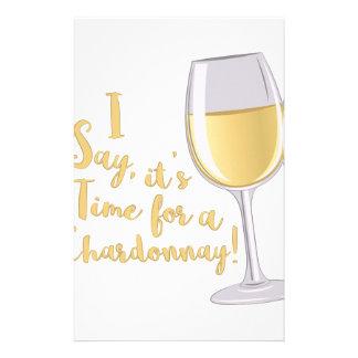 A Chardonnay Stationery
