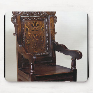 A Charles I armchair, mid 1600s Mouse Pad