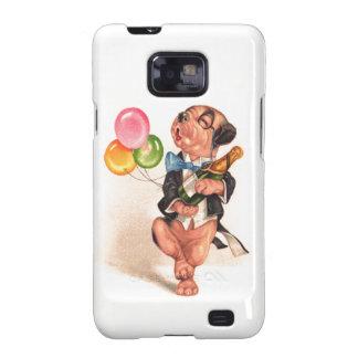 A charming Birthday Dog Galaxy SII Case