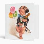 A charming Birthday Dog Vinyl Binders