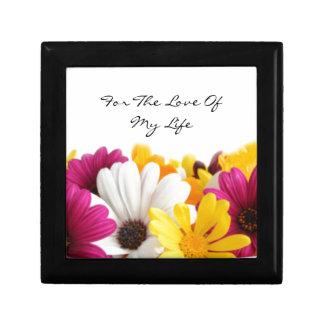 A Charming Bouquet Of Flowers Keepsake Box