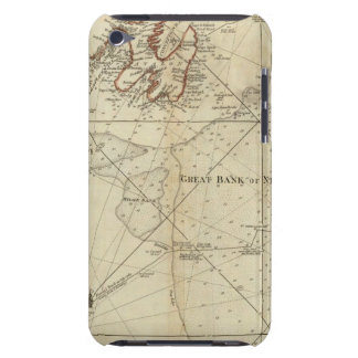 A Chart Of The Banks Of Newfoundland iPod Touch Cover