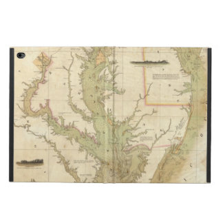 A Chart of the Chesapeake And Delaware Bays Powis iPad Air 2 Case