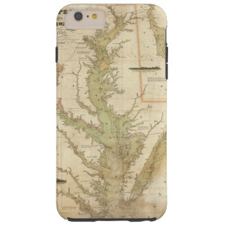 A Chart of the Chesapeake And Delaware Bays Tough iPhone 6 Plus Case