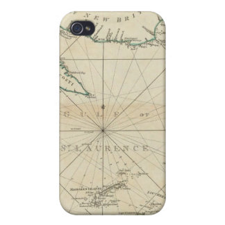 A Chart Of The Gulf Of St Lawrence iPhone 4/4S Covers