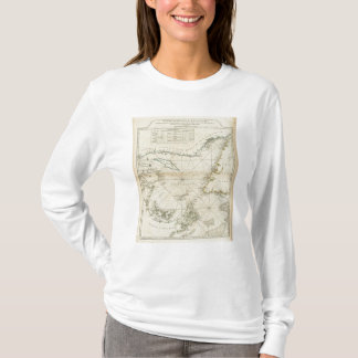 A Chart Of The Gulf Of St Lawrence T-Shirt