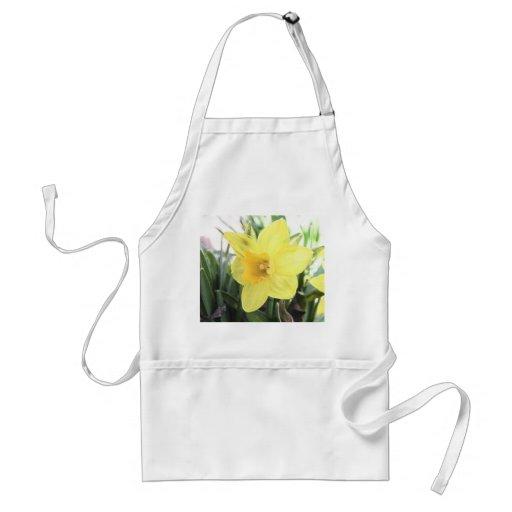 A Cheerful Yellow Daffodil Apron