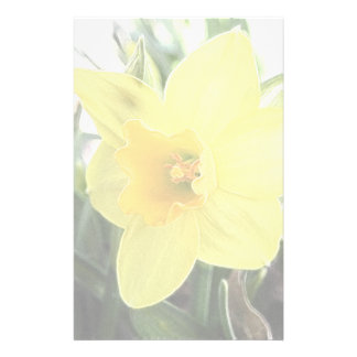 A Cheerful Yellow Daffodil Stationery