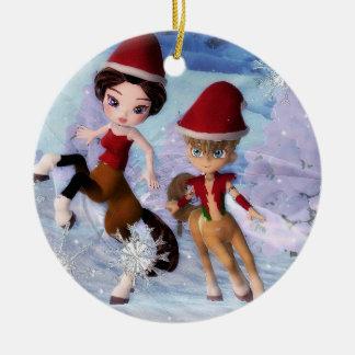 A Cheery Centuar Christmas Ornament