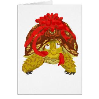 A Chelonial Christmas Greeting Card