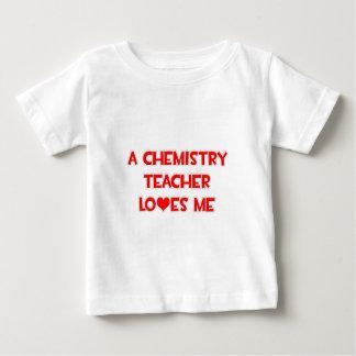 A Chemistry Teacher Loves Me Baby T-Shirt