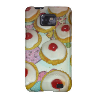 A Cherry Bakewell Tart Galaxy SII Case
