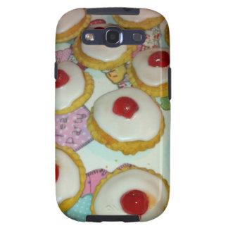 A Cherry Bakewell Tart Samsung Galaxy SIII Case