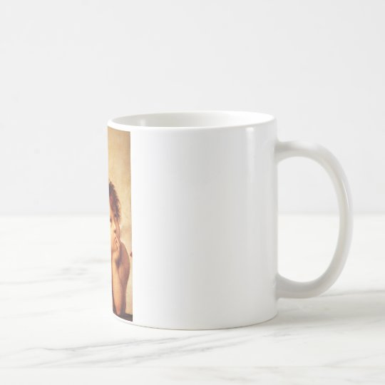 A Cherub, Detail of the Sistine Madonna - Raphael Coffee Mug