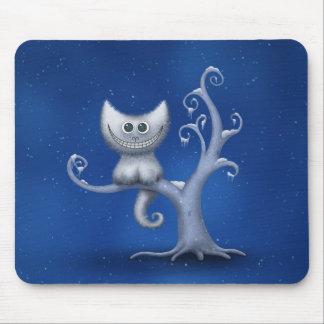 A Cheshire Kitten (Christmas) Mousepads