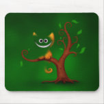A Cheshire Kitten (Disappearing) Mouse Pad