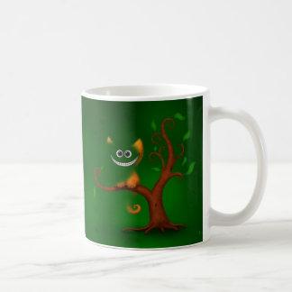 A Cheshire Kitten (Disappearing) Classic White Coffee Mug
