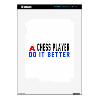A Chess player Do It Better Decals For iPad 3