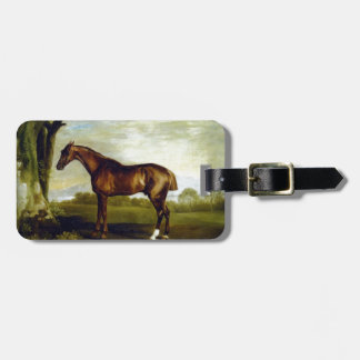 A Chestnut Racehorse by George Stubbs Luggage Tags